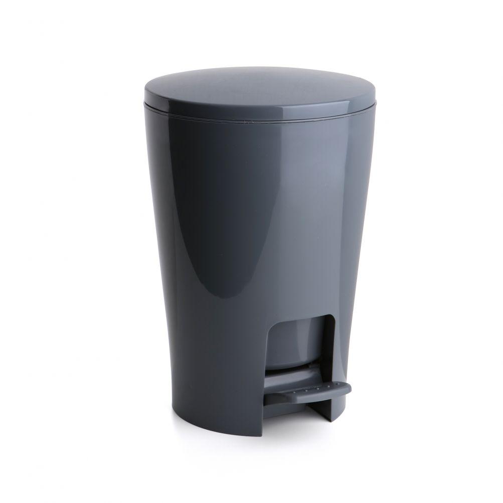 Tatay Produkte Ref 4434906 Badezimmer Treteimer Diabolo Grau