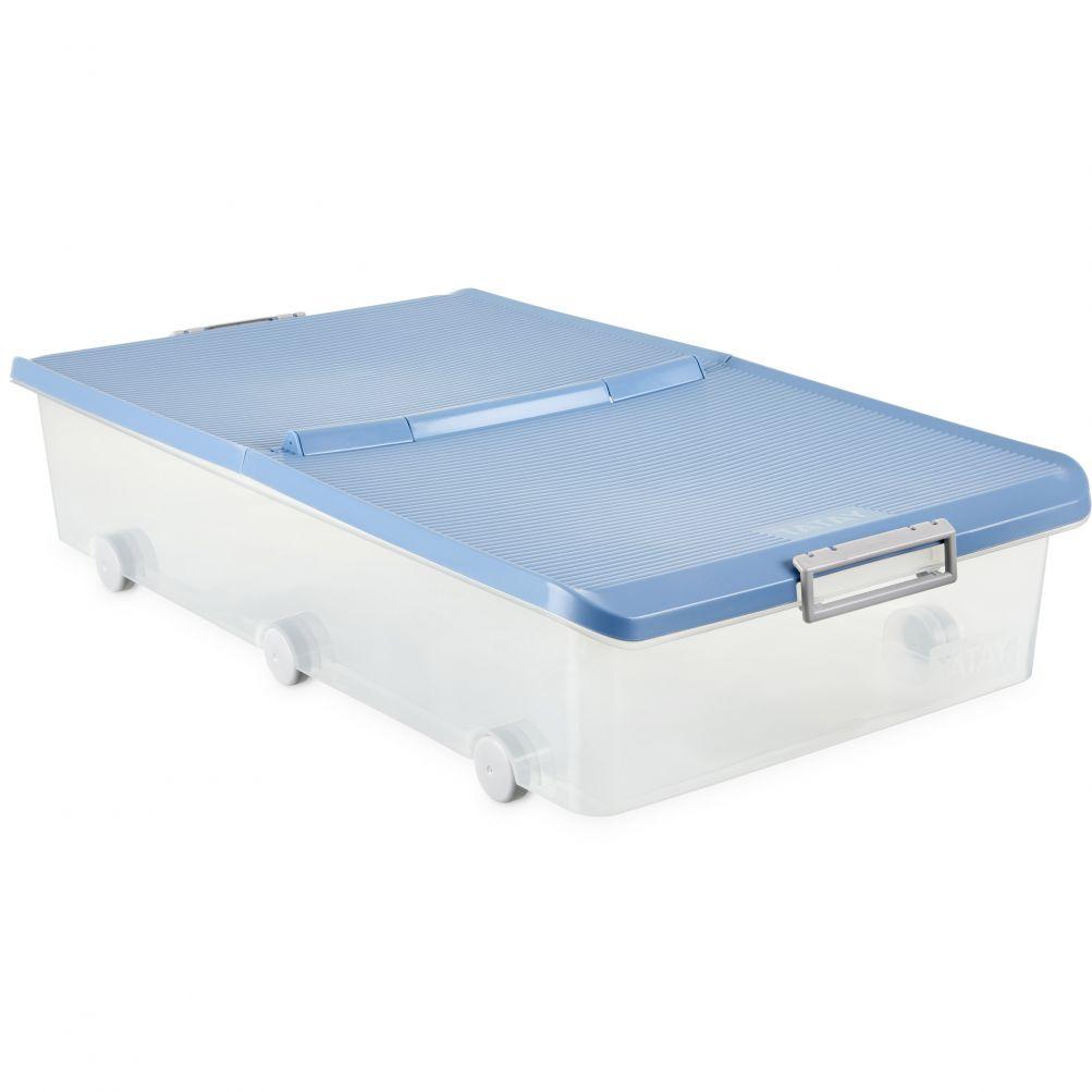 Tatay - Produkte - REF.1151107 UNTERBETT BOX MIT RÄDER BLAU